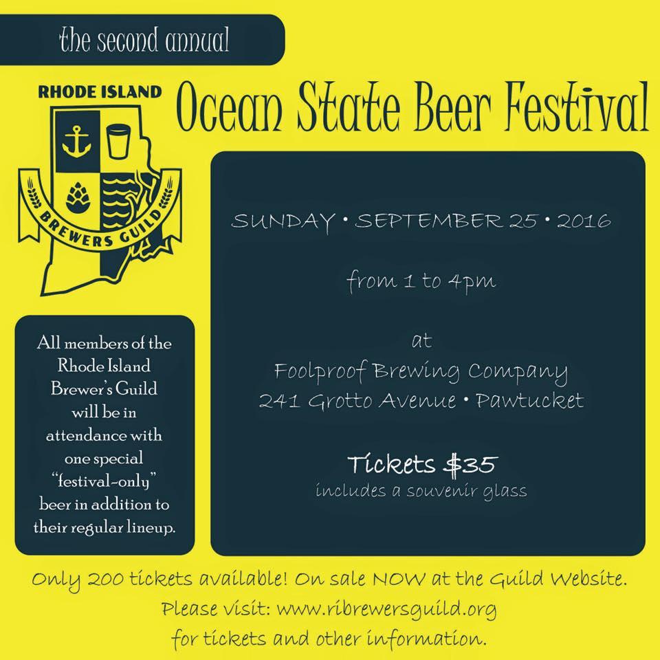 Ocean State Beer Fest 2016